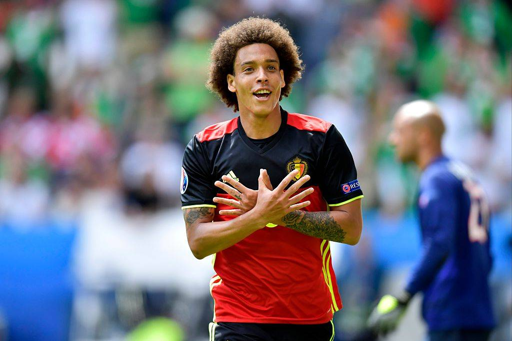 Roberto Martinez: China-based Axel Witsel remains a key player for Belgium