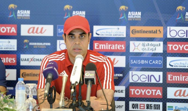 UAE manager Mahdi Ali