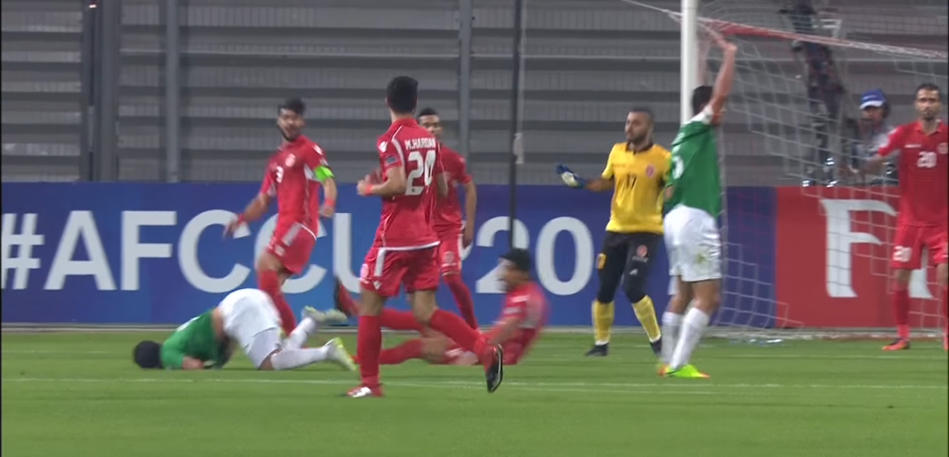 WATCH: Referee makes horrendous penalty call in AFC Cup