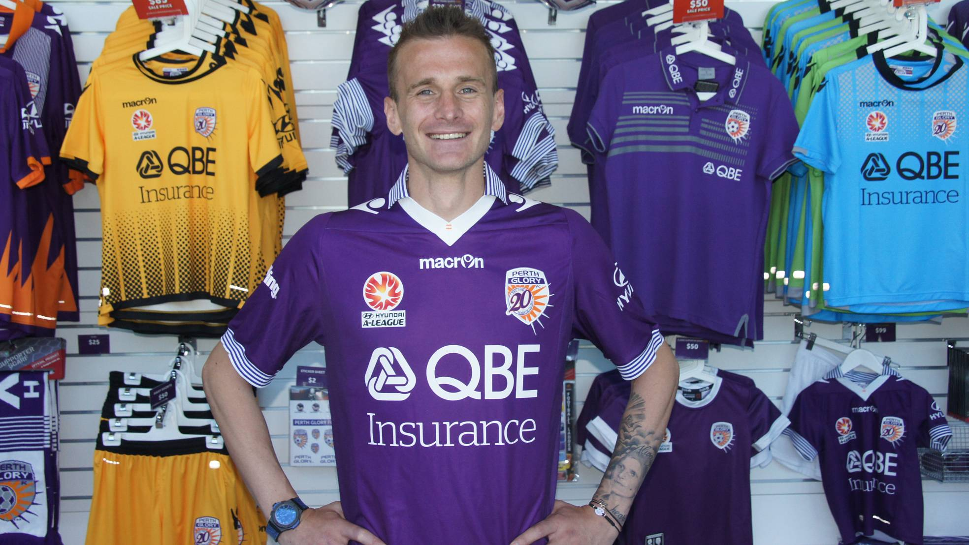 Perth Glory signs Romanian international