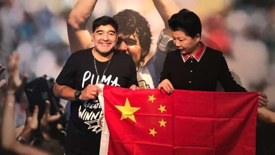 Diego Maradona agrees big-money deal to become latest Chinese soccer ambassador