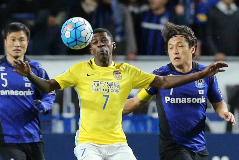 VIDEO: Ramires nets stunner for Jiangsu Suning in AFC Champions League