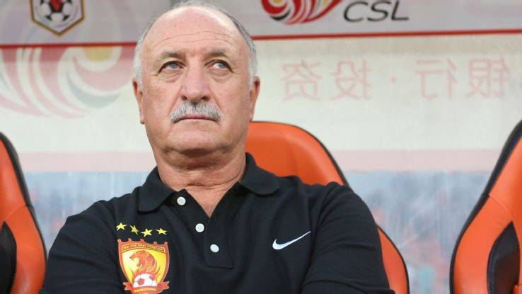 Scolari advises Carlo Ancelotti to replace him at Guangzhou Evergrande