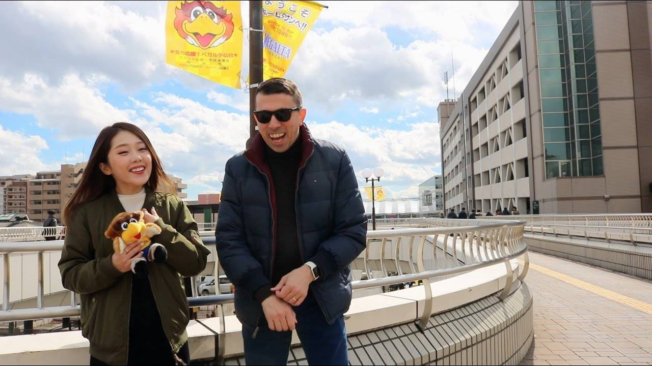 VIDEO: J.Chan veterans Cesare & Asami travel to Sendai in STASANPO