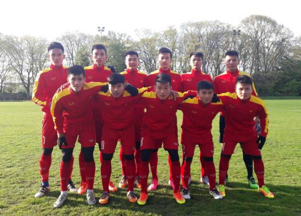 Vietnam U-20 show potential in Europe camp