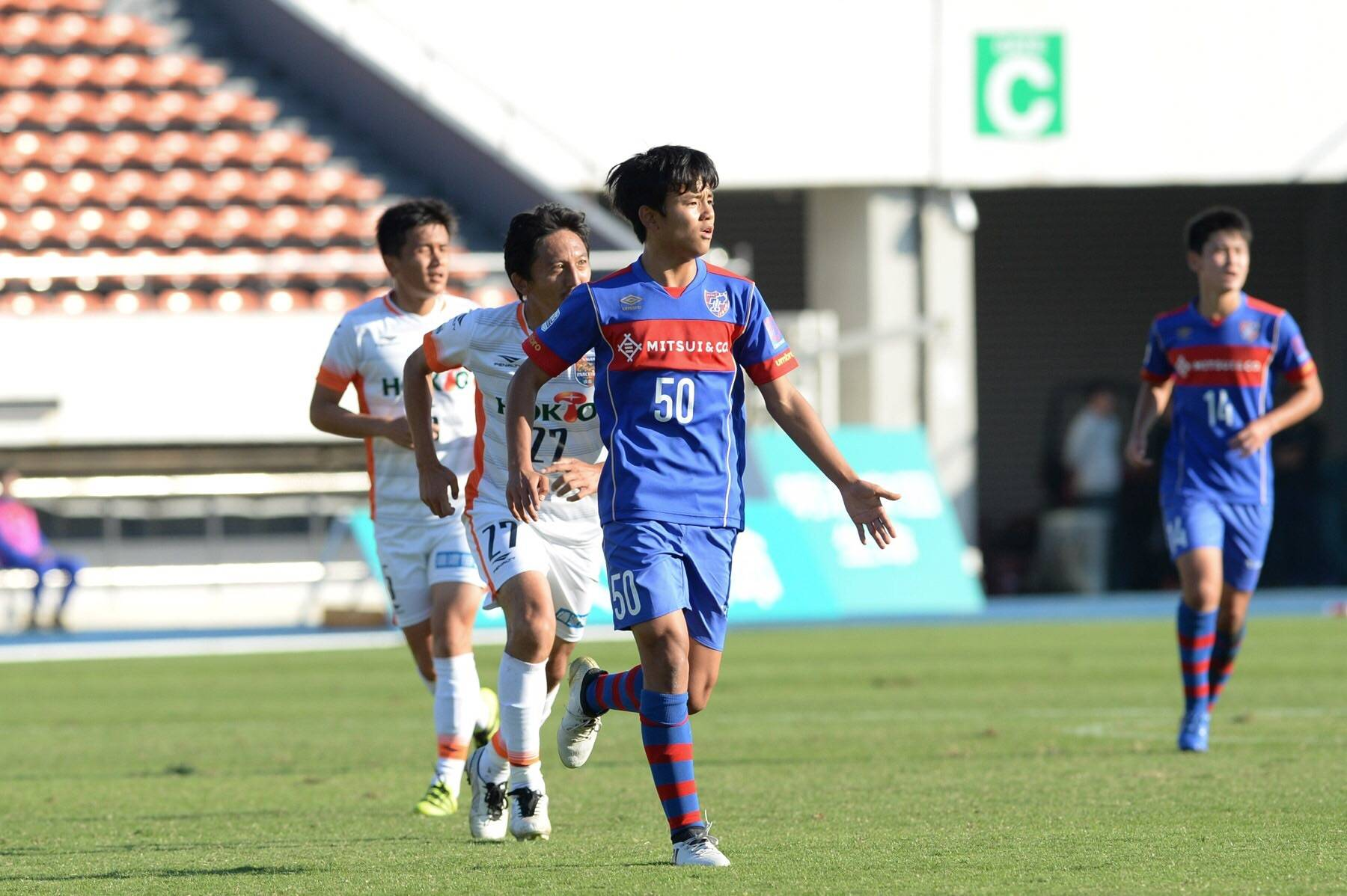 15-year-old Kubo shatters J.League scoring record
