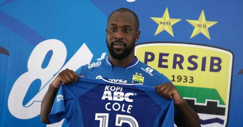 Former Persib Bandung striker Carlton Cole
