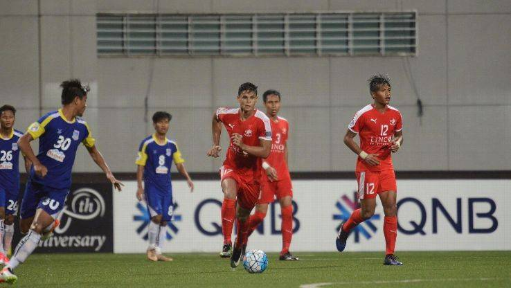 AFC Cup: Home United advance to knockout stage after thumping victory