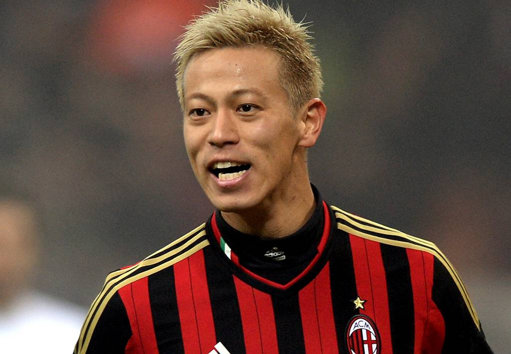 Two J1 League clubs interested in signing Keisuke Honda