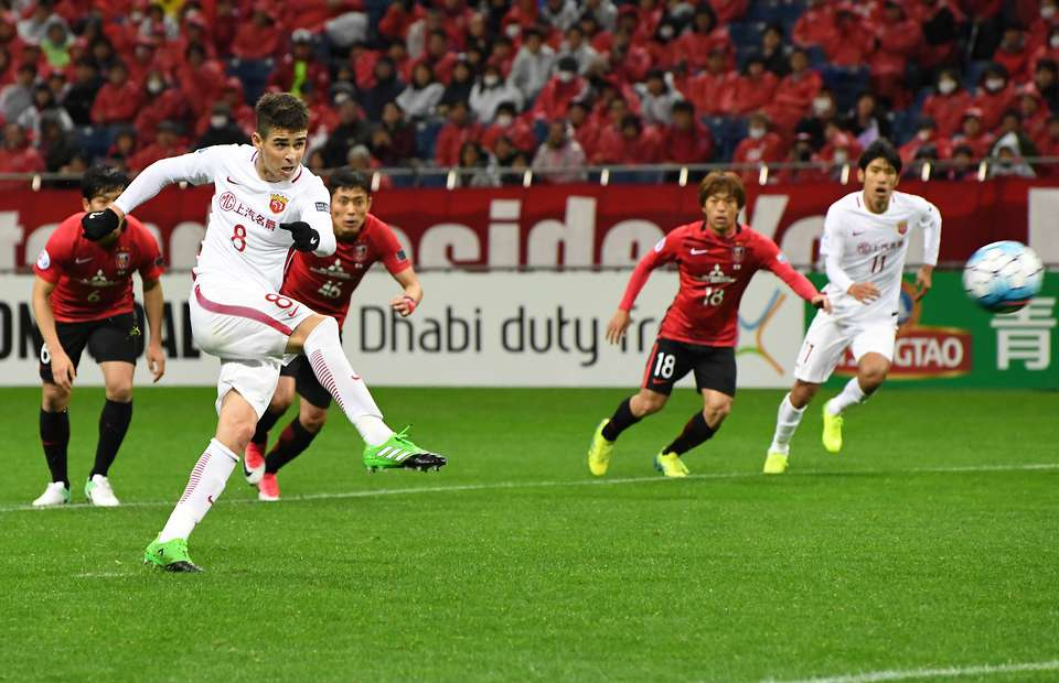 VIDEO: Oscar misses two penalties in 11 minutes for Shanghai SIPG