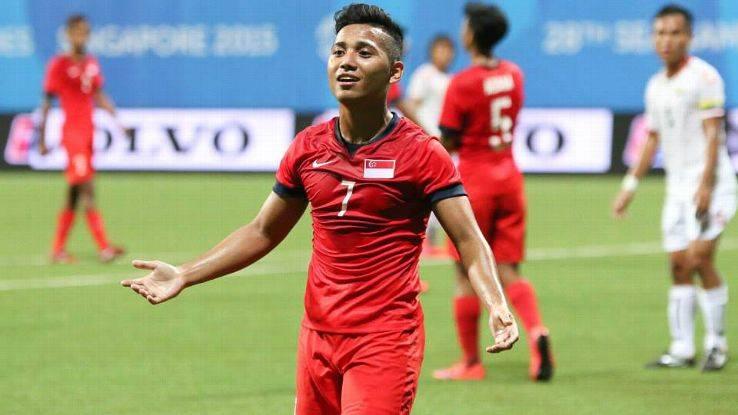 Singapore forward Sahil Suhaimi set for Premier League training stint