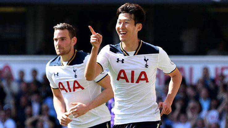 Tottenham striker Son Heung-min training again with South Korea squad