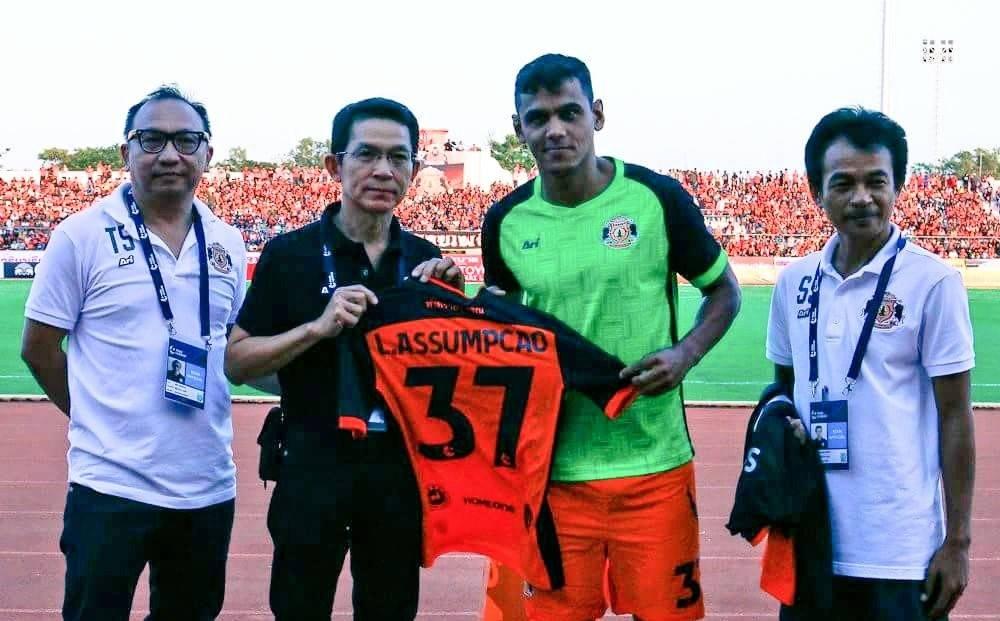 Sisaket confirmed Leandro Assumpção's move to Muangthong United