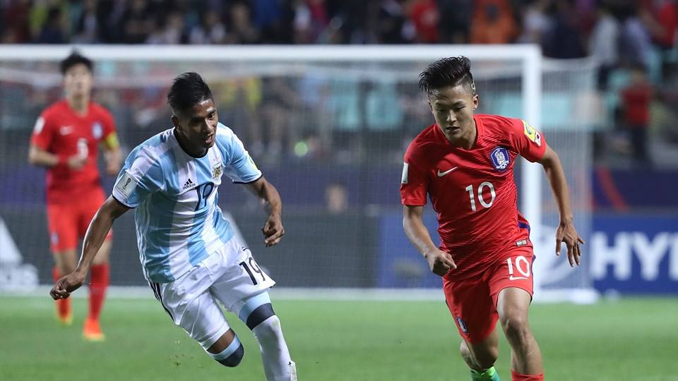 South Korea defeat Argentina to secure spot in U-20 World Cup knockout stage