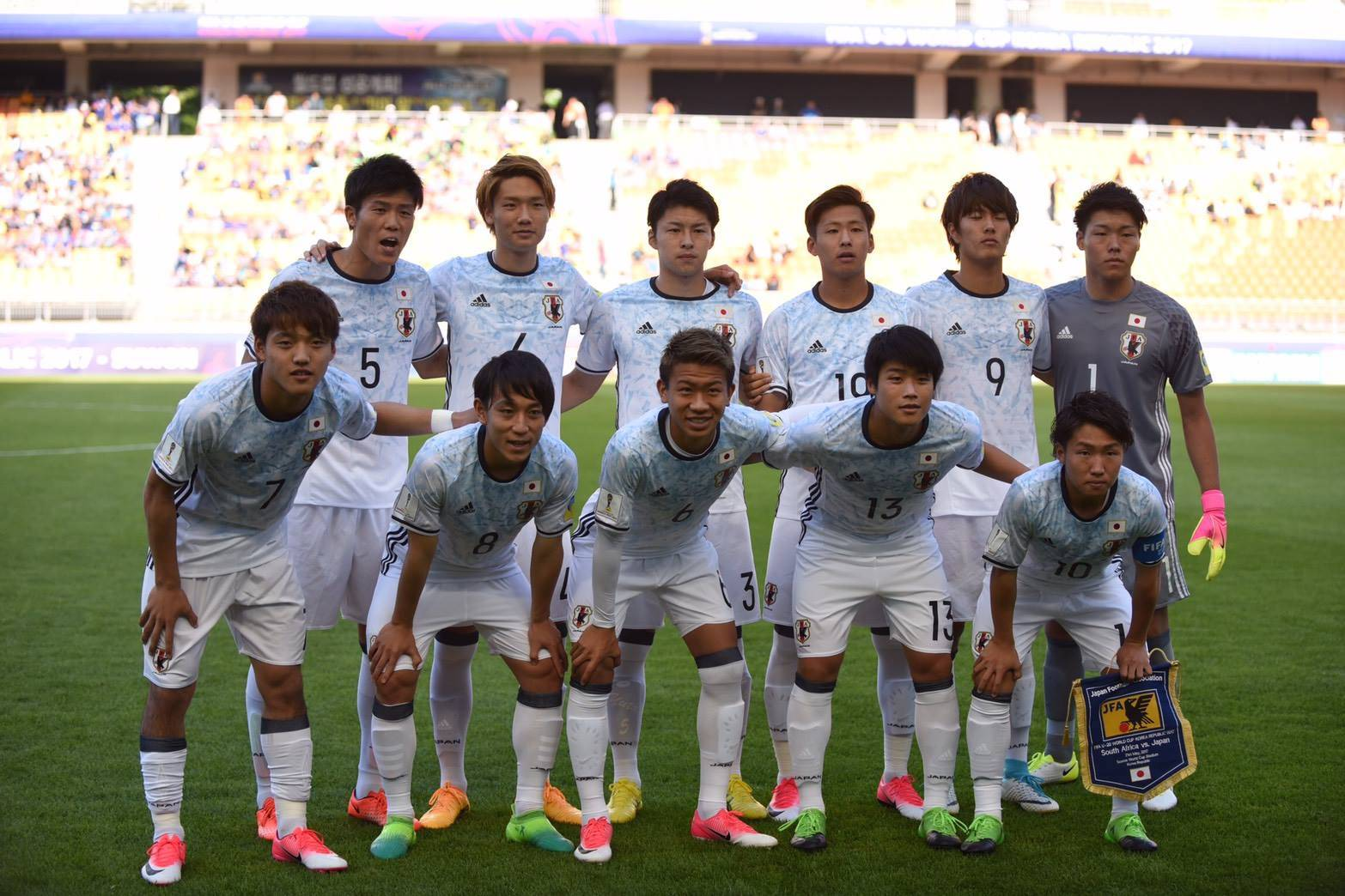 In Photos: Japan U-20 victorious in their opening match