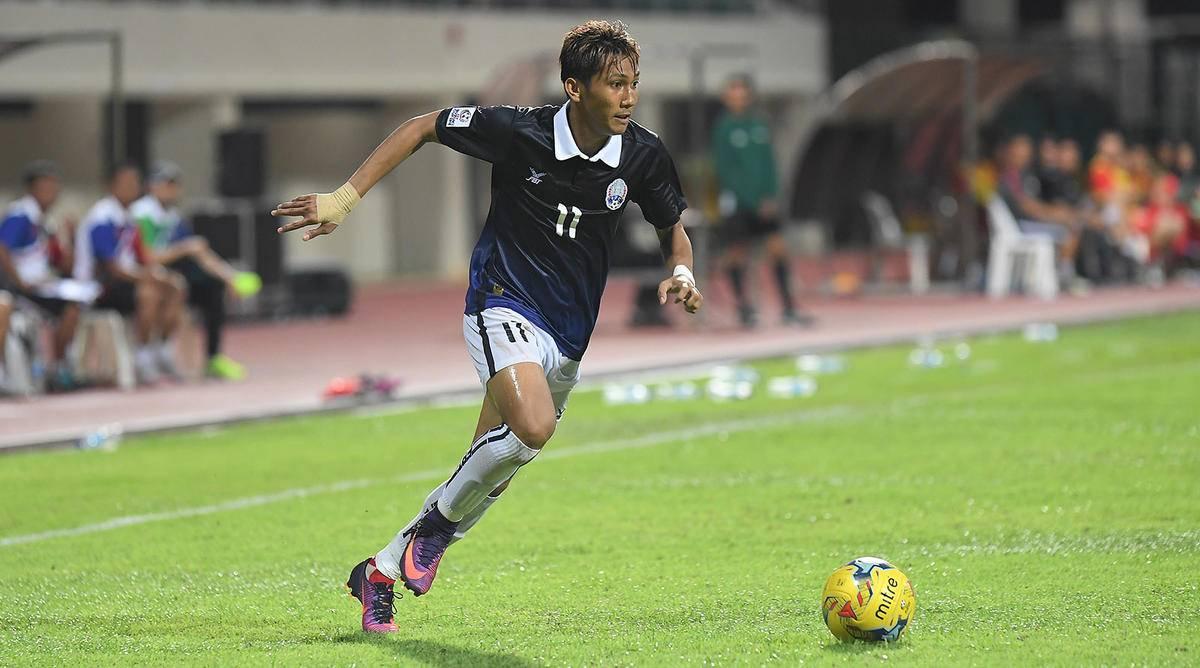 Chan Vathanaka targets victory ahead of Vietnam clash