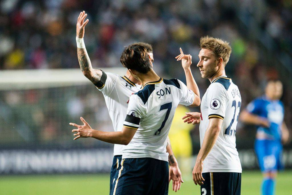 Son Heung-min on target as Tottenham beat Kitchee in friendly