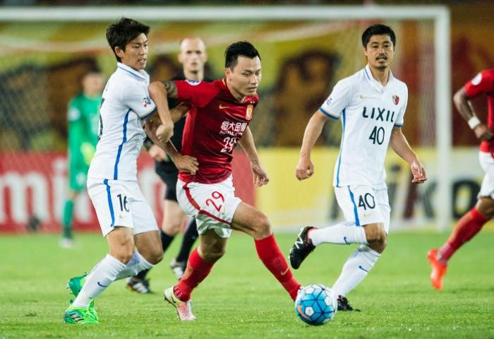 Guangzhou hold a narrow lead over Antlers after first leg