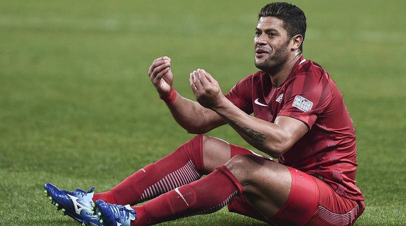 Hulk under investigation from Chinese Football Association
