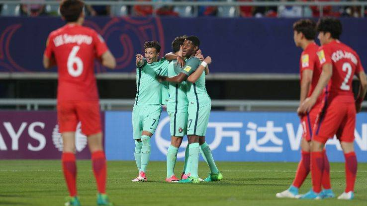 Portugal defeat hosts South Korea in the U-20 World Cup