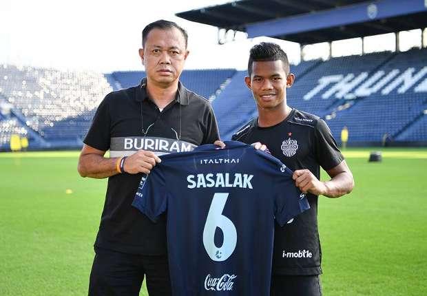 Buriram United signed Sasalak on loan from Bangkok United
