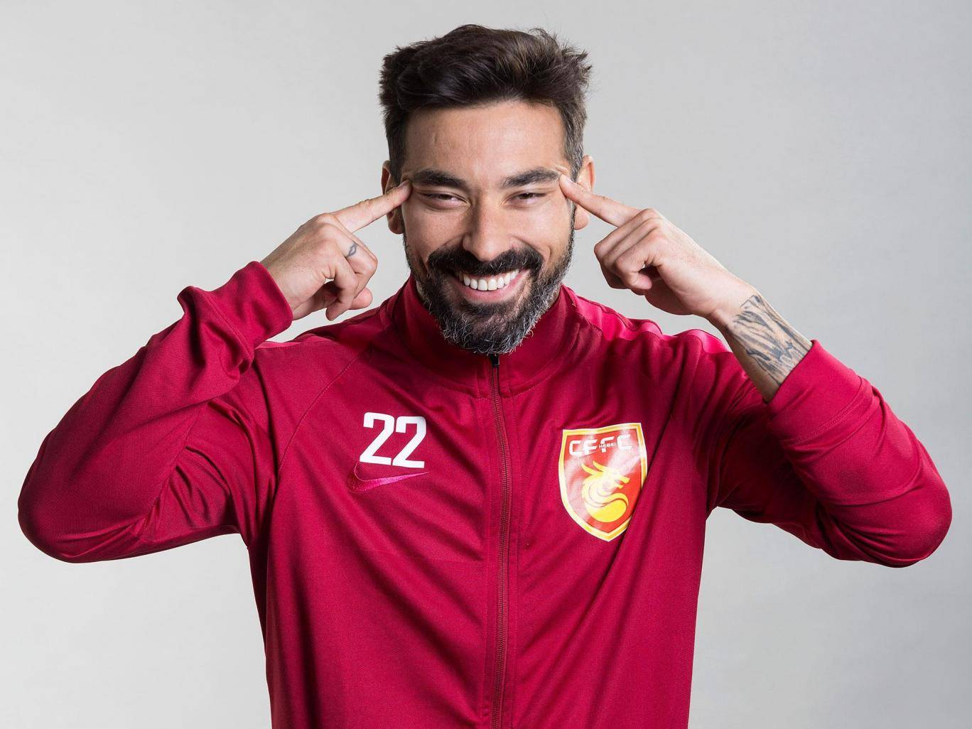 Hebei China Fortune apologise over alleged racist photo of Ezequiel Lavezzi