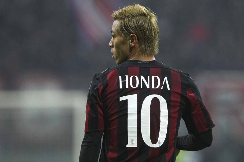 Keisuke Honda announces AC Milan departure