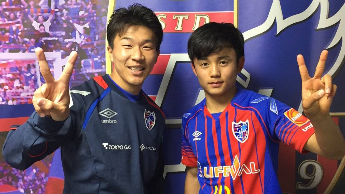 15-year-old Kubo makes top team debut for FC Tokyo