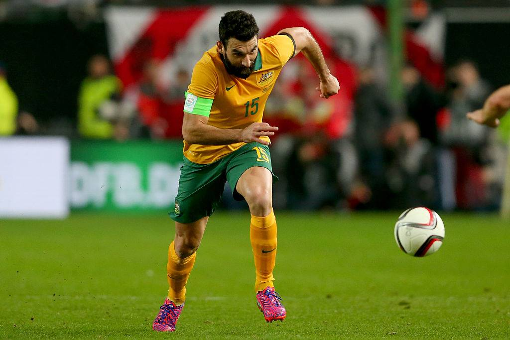 Captain Mile Jedinak out of Australia squad for Confederation Cup