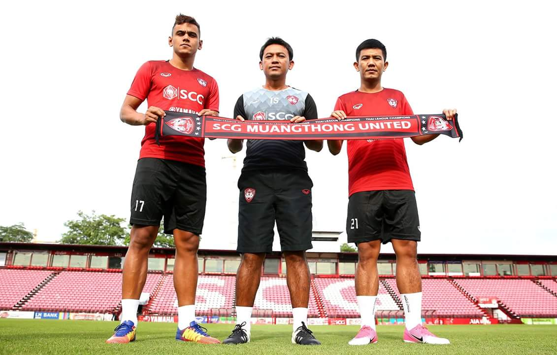 Muangthong United unveil Prakit Deeprom and Leandro Assumpcao