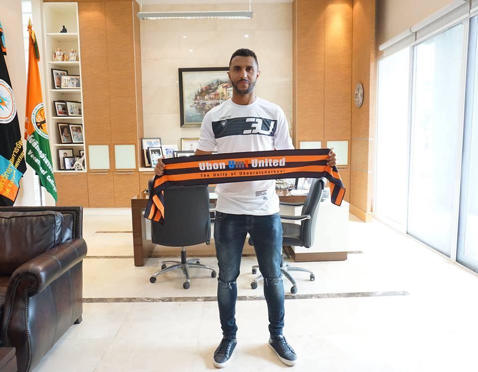 Ubon UMT United sign former Kashima Antler striker Carlão