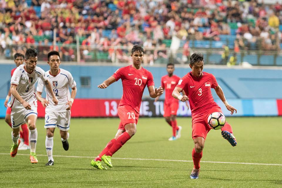 Singapore slump to Asian Cup qualifier defeat against Chinese Taipei