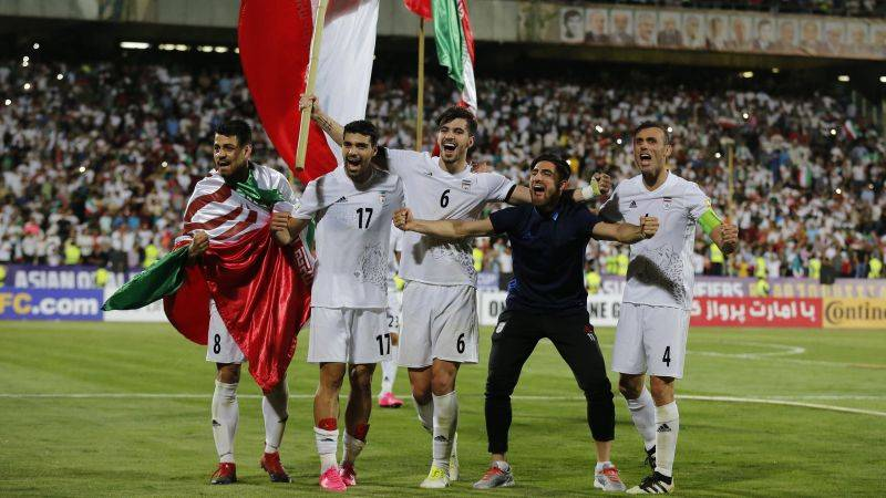 Iran become the first team in Asia to qualify for 2018 World Cup