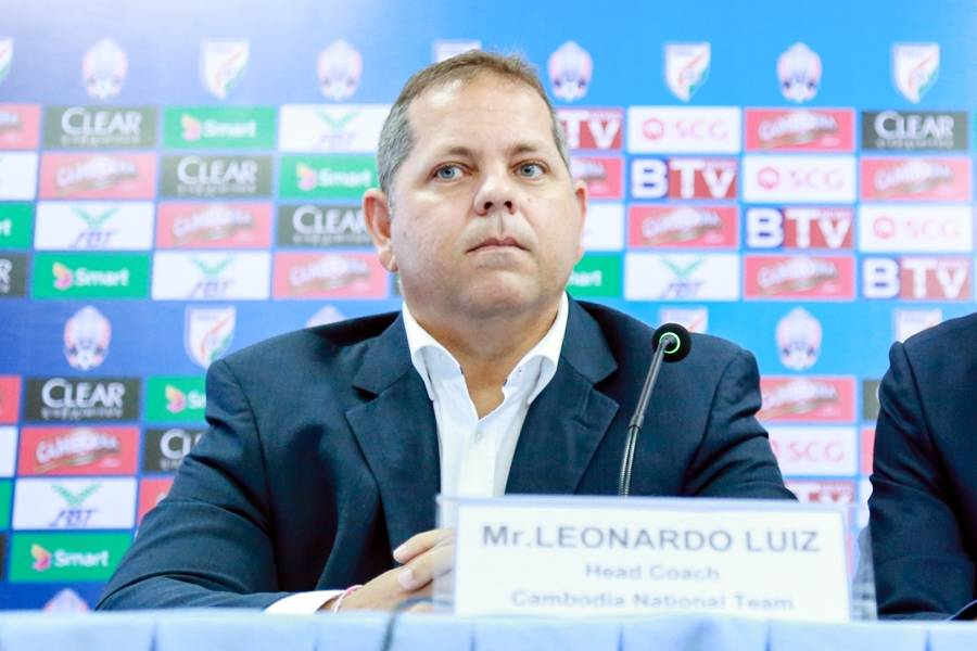 Leonardo Vitorino parts ways with Cambodia national team