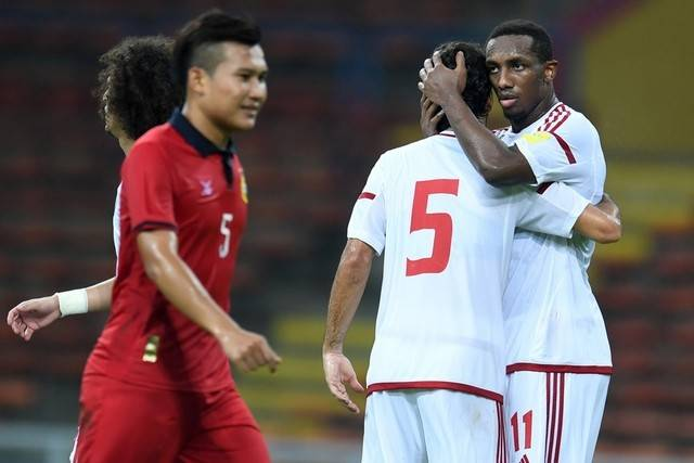 Laos thrashed by UAE in friendly match