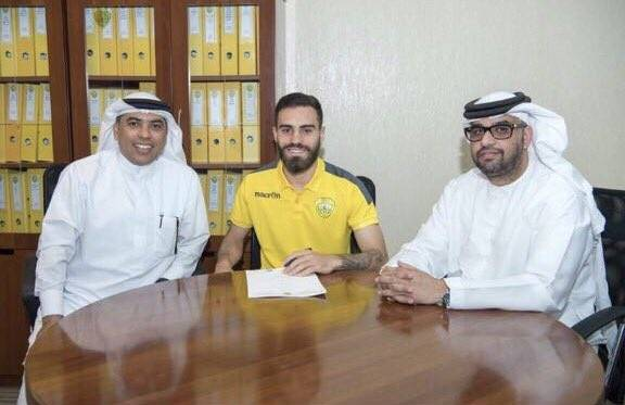 Al Wasl sign Anthony Caceres on loan from Manchester City