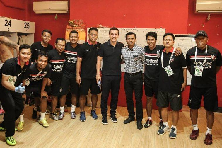 Former Manchester United star Gary Neville interested in coaching job in Indonesia
