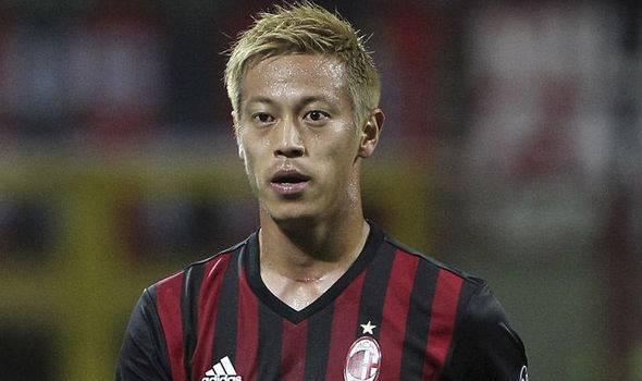 Former AC Milan midfielder Keisuke Honda joins C.F. Pachuca