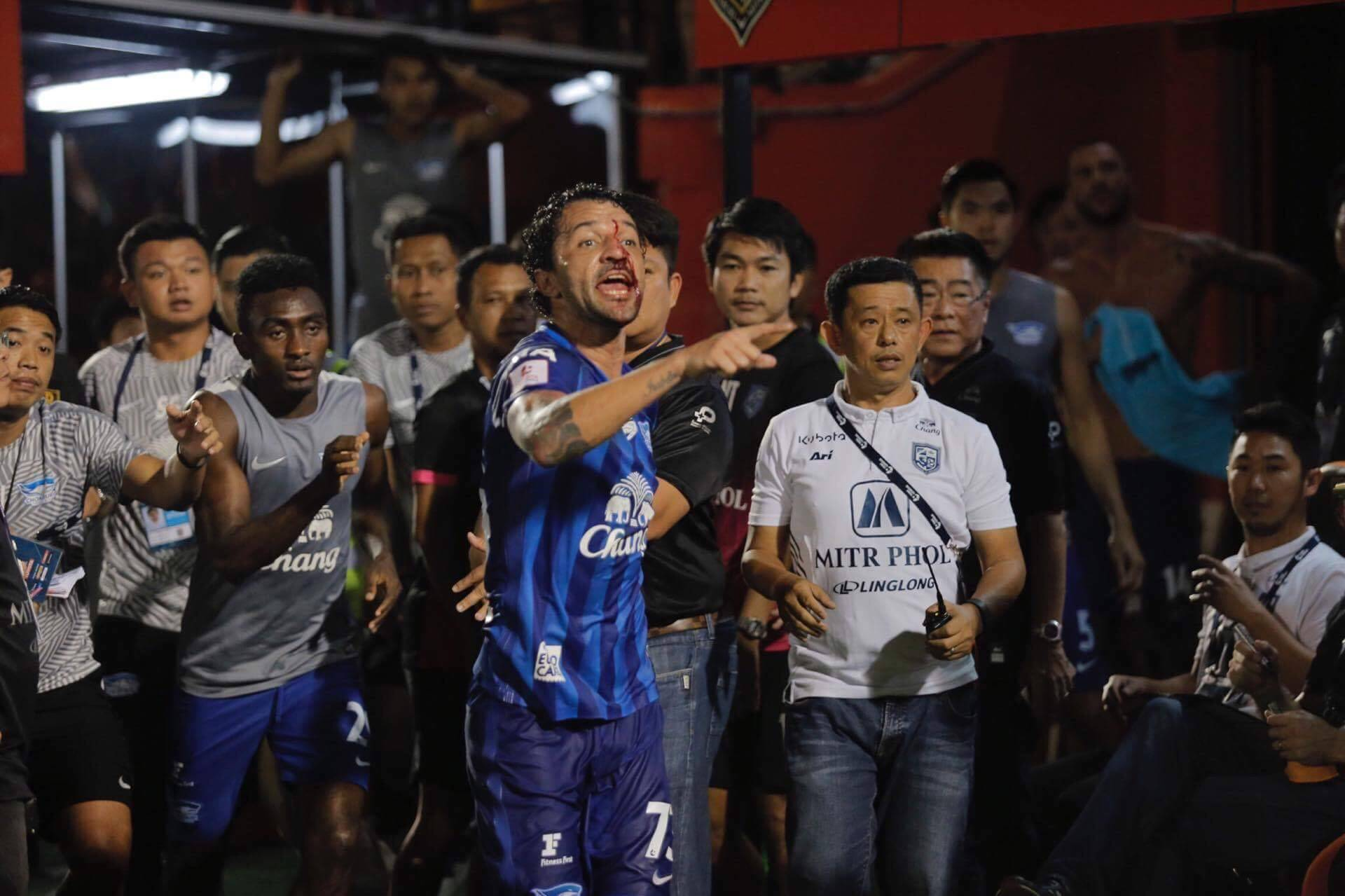Ratchaburi manager resigns over violent incident with Chonburi's Thiago Cunha