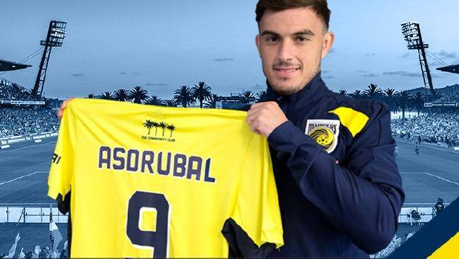 Spanish striker Asdrubal Padrón joins A-League Central Coast Mariners from Port FC