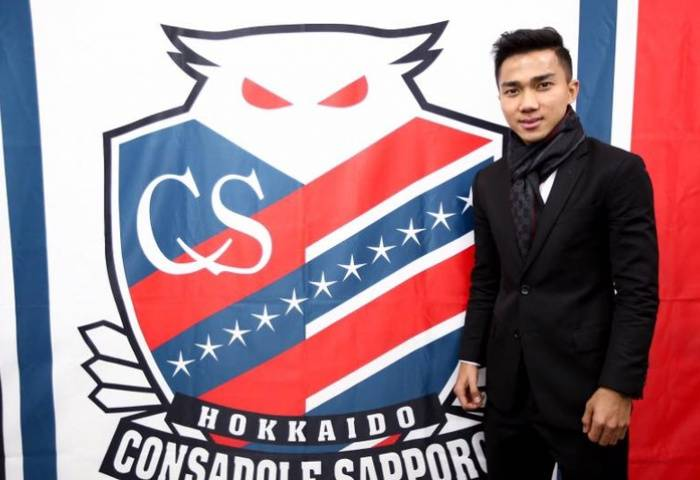 Chanathip likely to make Consadole Sapporo debut in cup match