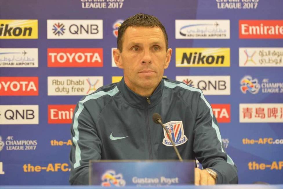 Shanghai Shenhua coach Gustavo Poyet: Chinese football is growing
