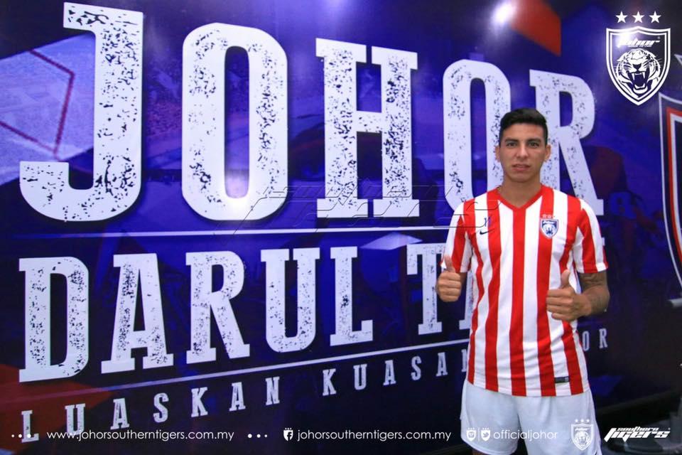 Brian Ferreira leaves JDT for Ecuadorian Premier League