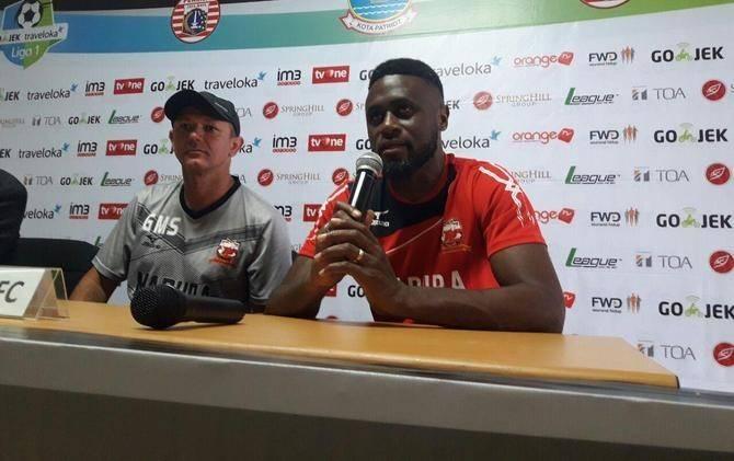 Madura United terminate Boubacar Sanogo's contract