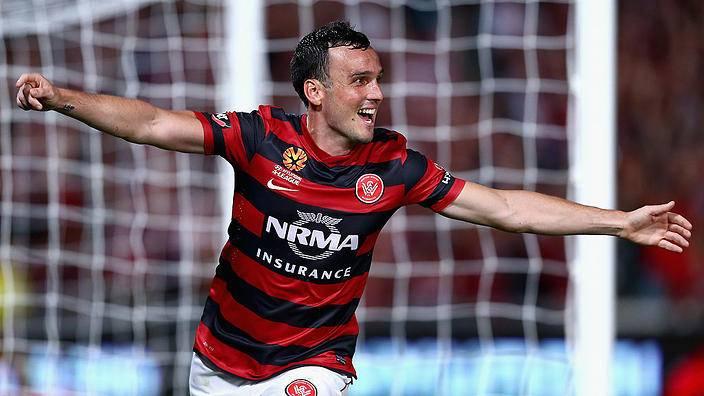 Former Chiangrai United striker Mark Bridge rejoins Western Sydney Wanderers