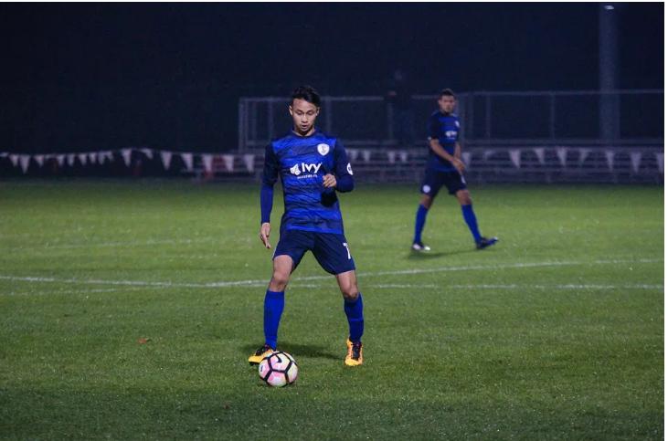 Malaysian-American footballer Wan Kuzain Wan Kamal signs professional contract with Swope Park Rangers