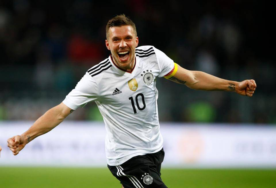 Lukas Podolski targets AFC Champions League berth with Vissel Kobe