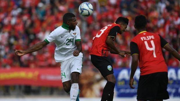 Marinus Wanewar strike sees Indonesia U-22 sneak win against stubborn Timor Leste