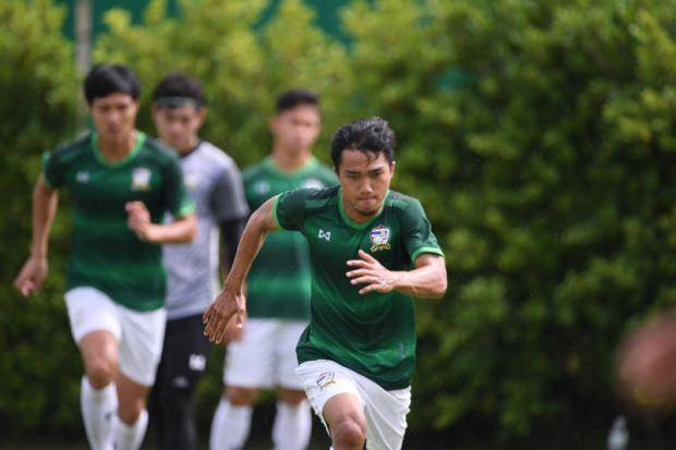 Chanathip joins Thailand national team in traning as 23-man squad announced