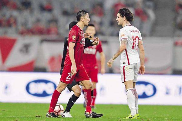 Shanghai SIPG demand implementation in actions of Tianjin supporters after towel brawl